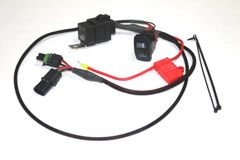 Premium Plug & Play Coolant Fan Override Switch Kit for Polaris RZR XP 900 and 1000 - Model RZR-FAN-OVR