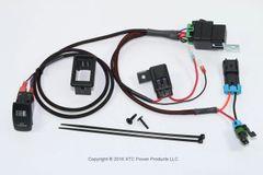 Premium Plug & Play Coolant Fan Override Switch Kit for Polaris RZR 2016 XP Turbo - Model RZR-FAN-OVR-T
