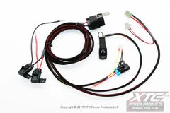 Can-Am Maverick X3 Radio - Intercom Plug & Play Relayed Wire Harness with Triple Fuse Power Protection