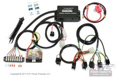 power control system with strobe - plug & play six circuit wire harness  with strobe for