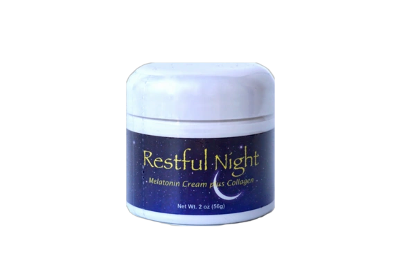 Restful Night Melatonin Cream with Collagen