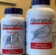 Glucomannan and CLA