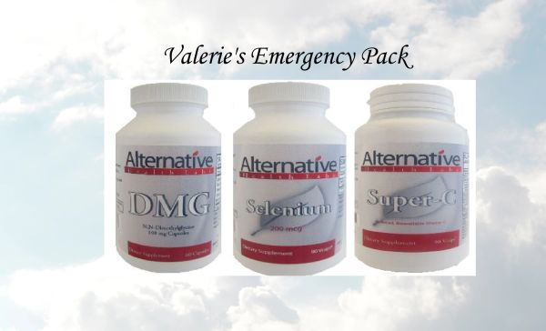 Valerie's Emergency Pack