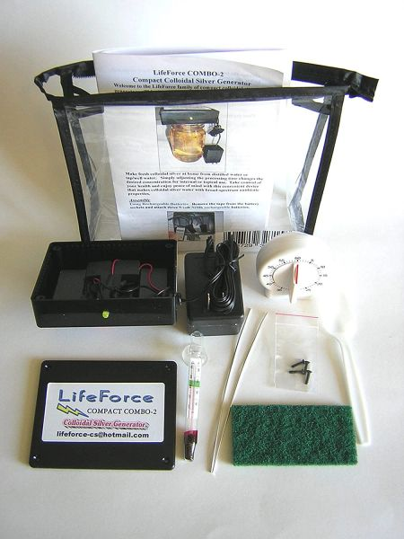 Colloidal Silver Generator Dual - Electric & Battery Operated