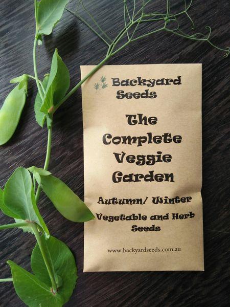 Complete Veggie Garden Autumn/Winter