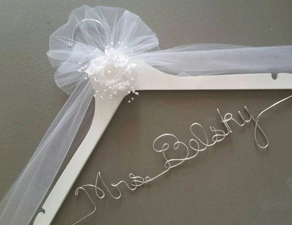 Wedding Dress Hanger.Personalized Wedding Hanger For The Perfect Wedding Dress She Will Love It Wedding Dress Hanger Bride Hanger Bridal Shower Gift