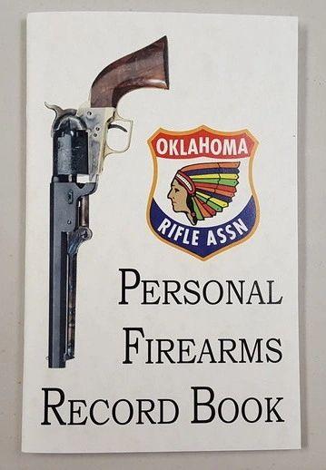 ORA Personal Firearms Book