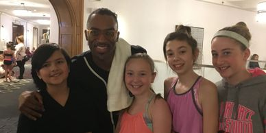 All That Jazz dancers with Desmond Richardson