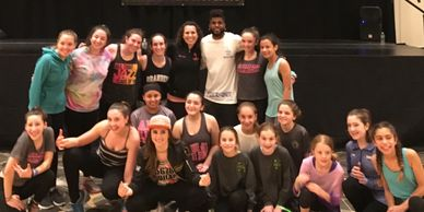 All That Jazz dancers with SYTYCD