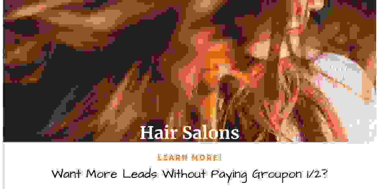 Hair Salon Social Media Ad Campaign