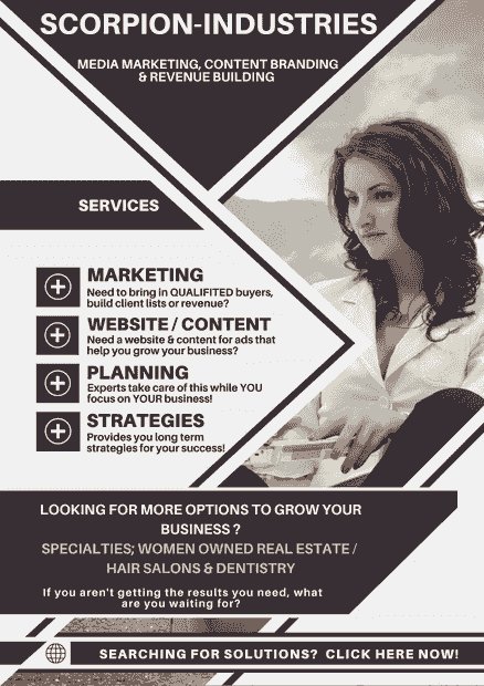 Social media marketing, print marketing, visual design