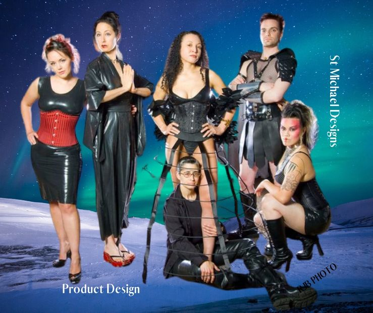 Product Designer, Fashion, AMDEF, Latex, fetish designer, sketch, prototype to product