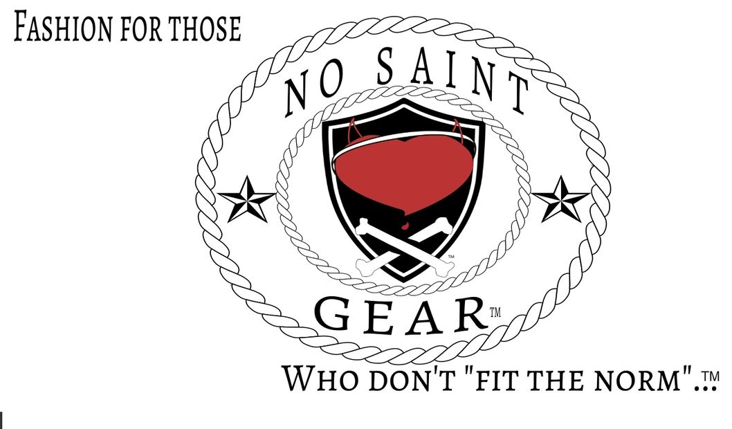 No Saint Gear branding for merchandise.  Ain't no saint
