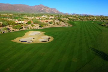 Aerial video and photography of Gold Canyon Golf course.
