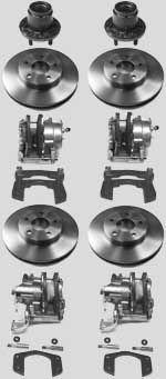 """10-1/4"""" Brakes 1984 - 1987 (Camaro Kit)"""