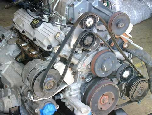 Fiero Alternator for the 3800 Bracket and Idler Pulley