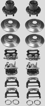 """14"""" Brakes (1984 - 1988) (Vette/Willwood)"""