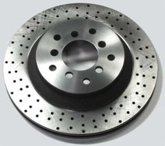 Brake Rotor Cross-Drilling/Dimpling/Slotting