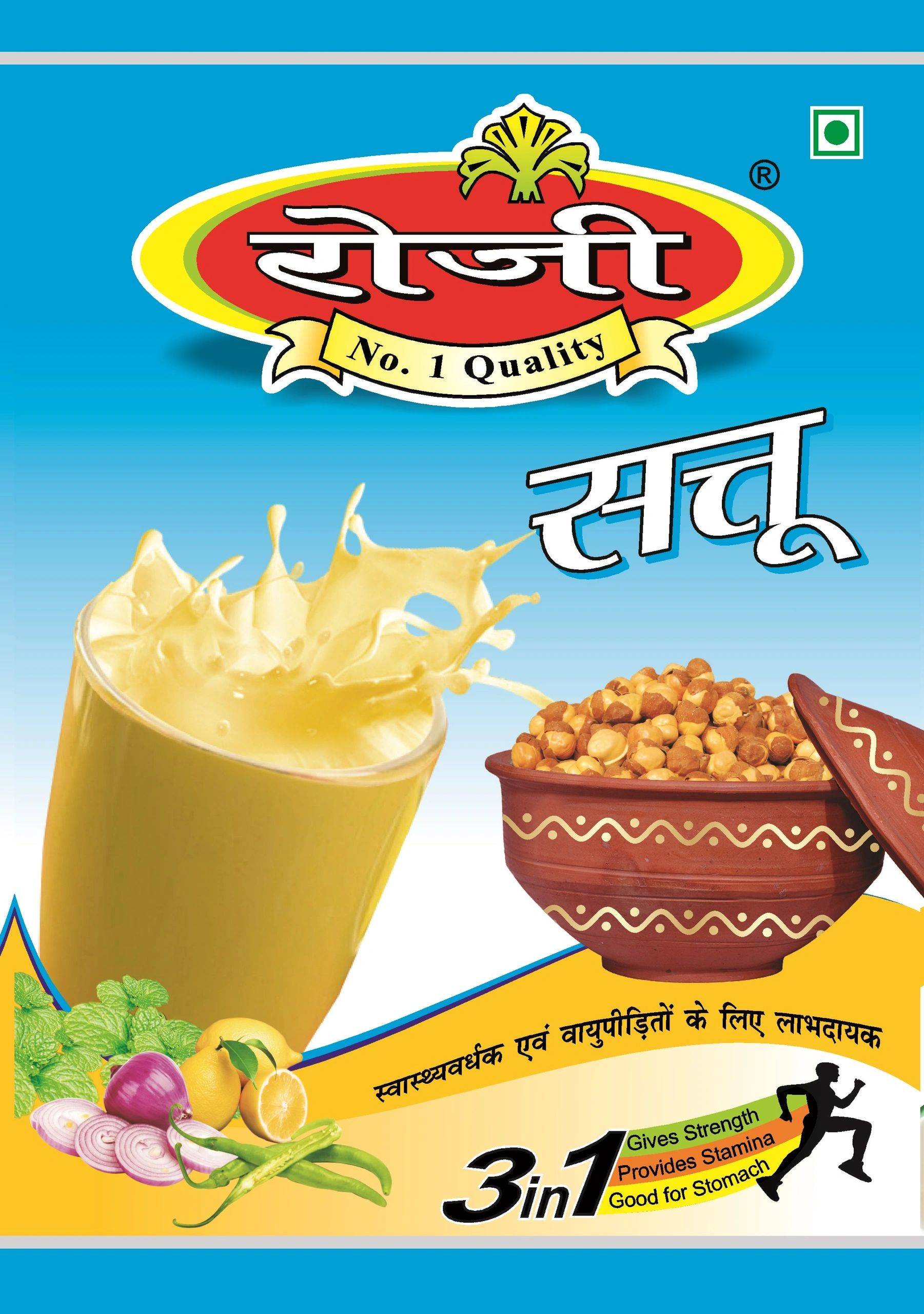 sattu gives strength ,provides stamina & good for stomach