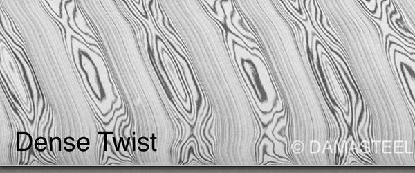 """.160"""" x 1.75"""" x 4.5"""" Dense Twist Flat Stock"""