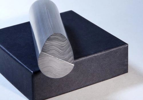 """27mm (1.06"""") dia x per inch Parallell Damasteel DS95X"""