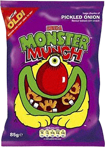 Walkers Pickled Onion Monster Munch (40g)