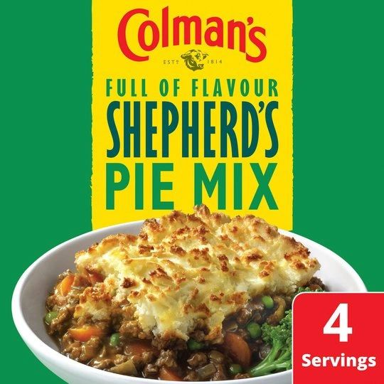 Colman's Shepherd's Pie Recipe Mix (50g)