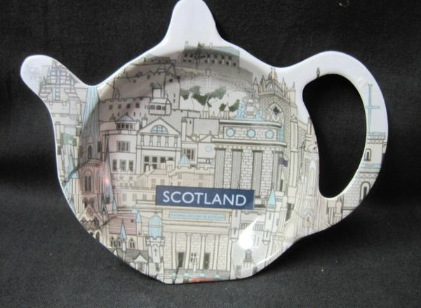 Scotland Landmarks Tea Tidy