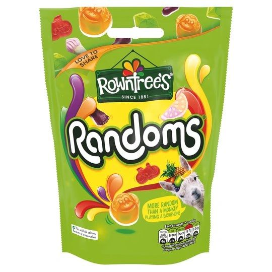 Rowntrees Randoms Pouch (150G)
