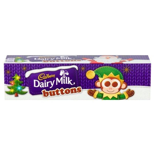 Cadbury Dairy Milk Buttons Tube (72G)