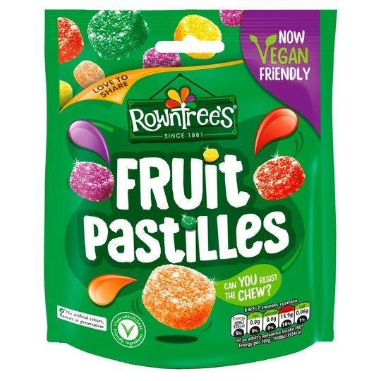 Rowntrees Fruit Pastilles Pouch Bag (150G)