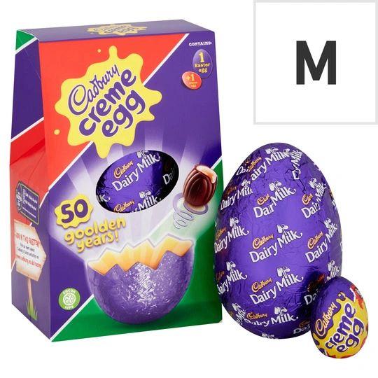 Cadbury Creme Egg Medium Easter Egg (138G)