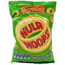 Kp Hula Hoops Cheese & Onion (34G)