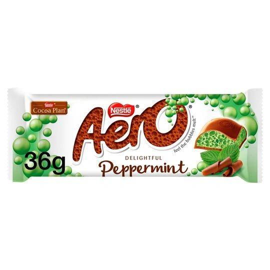 Nestle Aero Peppermint (36g) BEST BEFORE 9/30