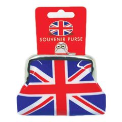 Small PVC Coin Purse with Union Jack Design