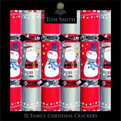 Tom Smith Fun Family Crackers (12 Pk)