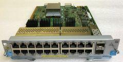 J9536A HP Procurve 20-port Gig-T PoE+/2-port 10GbE SFP+ v2 zl Module E5400/E8200
