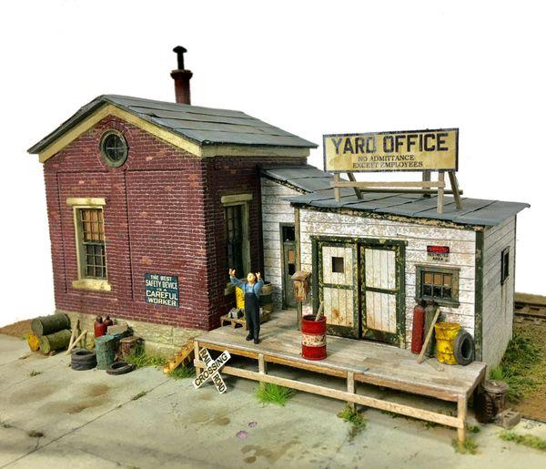 Yard Office No  3 -HO Scale Kit