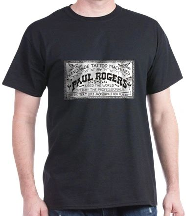Paul Rogers Biz card tee