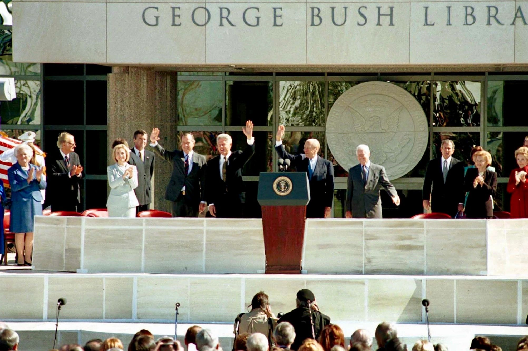 Farris Rookstool, III, George H. W. Bush Presidential Library, Photo by Michael Mulvey, DMN ©1997