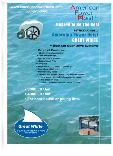 APH-035 3,000 ($805 00) , & 4,000 lb  ($820 00) Sealed Gear