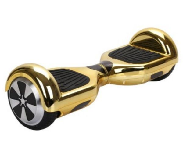 eHover Gold Chrome Hoverboard (Segway Balance Board) | eHover® Quad Bike  Store UK - Shop Now!