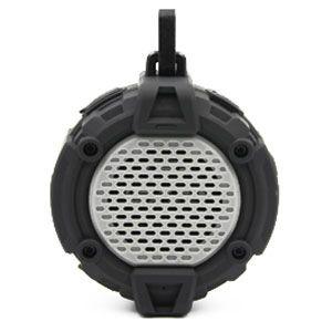 Swordfish Waterproof Wireless Bluetooth Speaker - Gray
