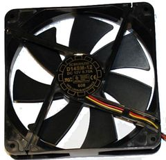 120mm Case Fan with 4 Pin Molex power connector