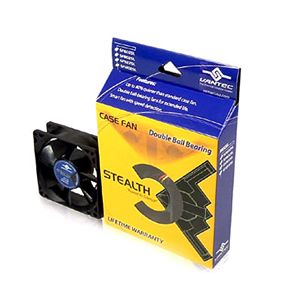 Vantec SF8025L 92mm Double Ball Bearing Stealth Case Fan