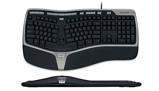 Microsoft (B2M-00013) Natural Ergonomic Wired Keyboard 4000