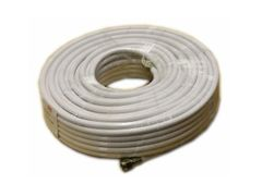 100FT. Digiwave RG6 Coaxial Cable - White