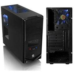 Thermaltake V4 VM30001W2Z Black Edition Chassis