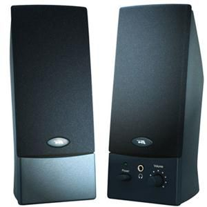 Cyber Acoustics CA-2011WB 2.0 Speaker System - 4 W RMS - Black
