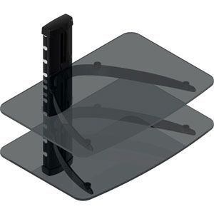 Tygclaw LCD8217BLK Double Layer DVD Shelf (Special Order)